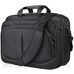 "17.1"" Laptop Bag for 17"" Laptop Briefcase Water-Repellent Ex"