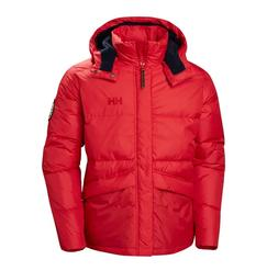 helly hansen 1877 DOWN JACKET RED US MENS SIZES 53334-110