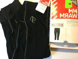 $80 Helly Hansen HH Warm 3/4 Pant Size L Womens Base Layer N
