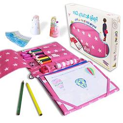 Pipity Art Set for Girls | Art and Crafts with Stationary an