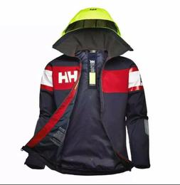 Helly Hansen Auth SALT FLAG JACKET Hood 33909 Waterproof Win