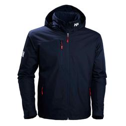 Helly Hansen Crew Hooded Midlayer Jacket - Men's - Large, Na