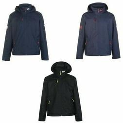Helly Hansen Crew Hooded Midlayer Jacket Mens Coat Top Outer