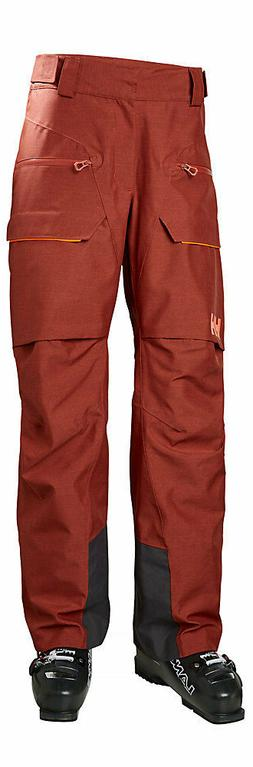 Helly Hansen Garibaldi Ski Pant 65617-199 Brick Red Mens Siz