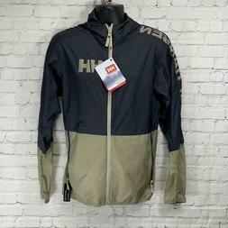 Helly Hansen Graphite Blue Active Windbreaker Zip Up Jacket