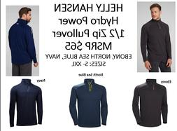 Helly Hansen HP 1/2 Zip Pullover; Colors: Navy, Ebony, or N