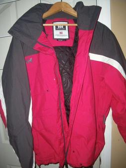 Helly Hansen Jacket Size Large ,Red, Brand New