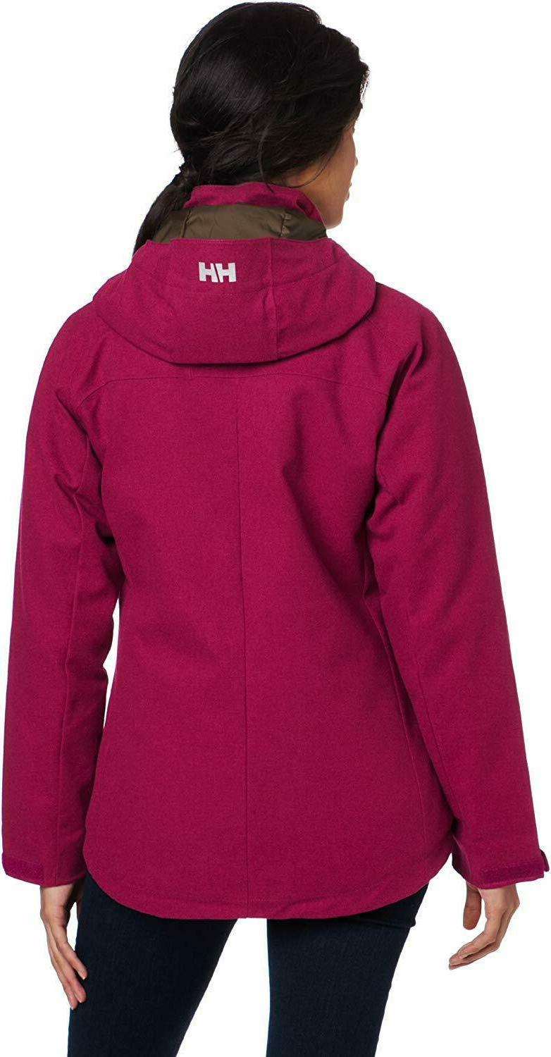 HELLY HANSEN WOMENS COASTLINE PARKA BLACK COAT BLACK SKI JAC