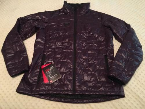 helly lifaloft insulator jacket womens xlarge nightshade