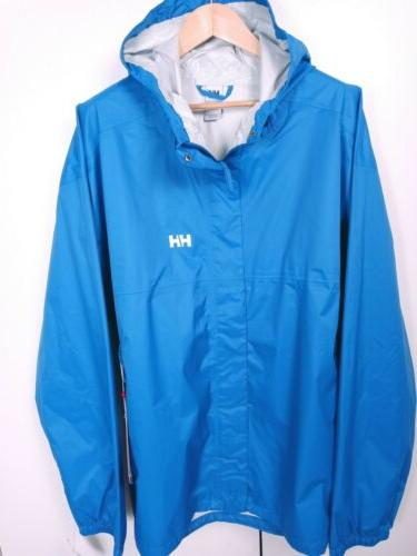 Helly JACKET Water/Windproof Fully 5XL Blue Retail$175