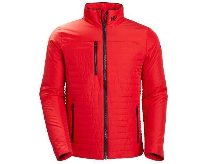men s crew insulator red alert jacket