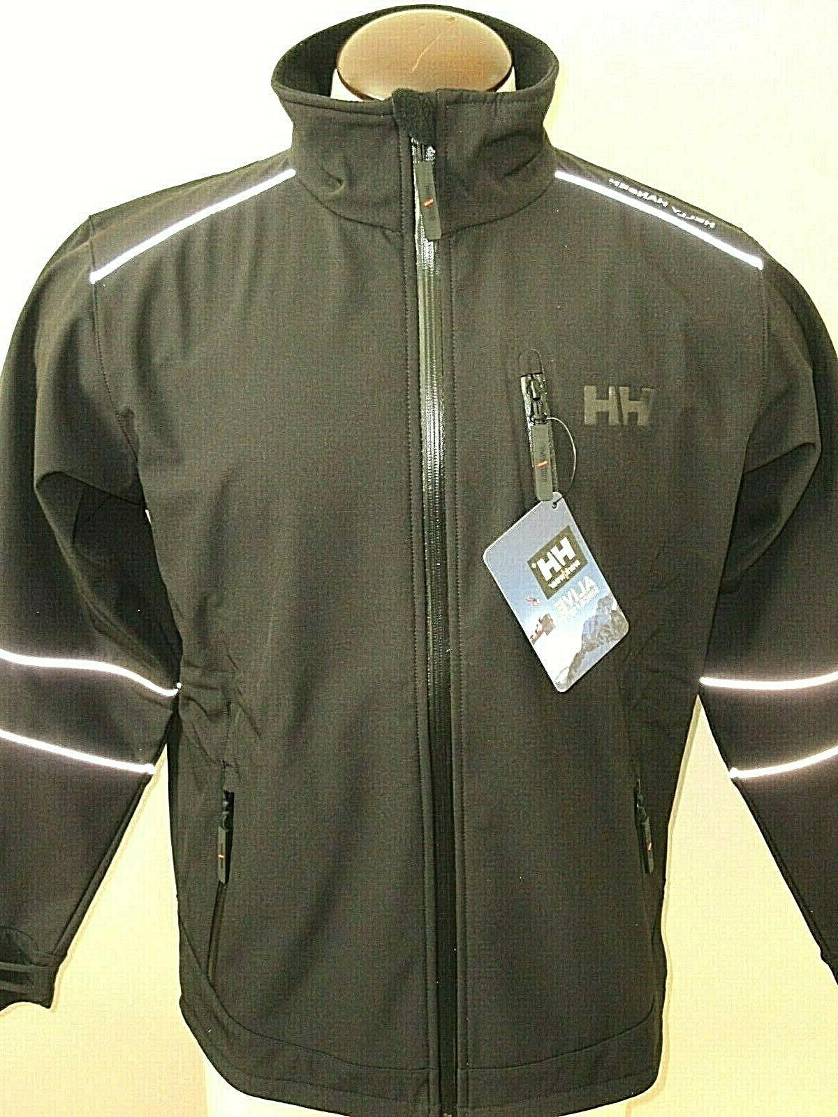 Helly Softshell Lined Black Size Large