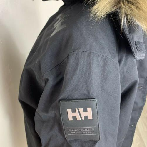 Helly Hansen NWOT MED Jacket Faux Fur