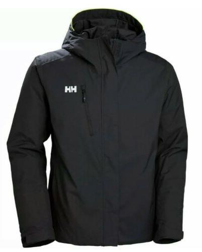 New Helly Mens Trysil Insulated Waterproof Ski Jacket Size XL $300