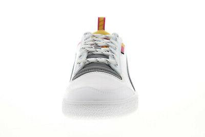 Puma Sampson Helly Hansen HH Mens White Low Sneakers Shoes