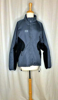HELLY HANSEN SLATE/BLACK FULL FEATURE INSULATOR SKI ZIP COAT