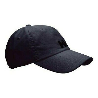 unisex logo baseball cap black size one