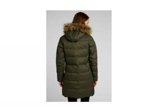 Helly Down Parka Women's Beluga Color Size Brand New Tags!