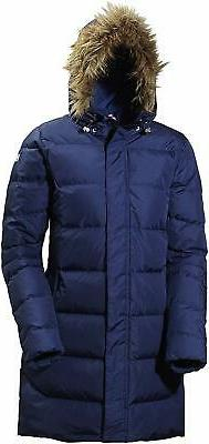 Helly Hansen Women's Aden Down Parka, 689 Evening Blue,, Blu