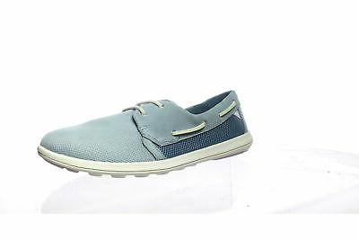womens lillesand blue boat shoes size 9