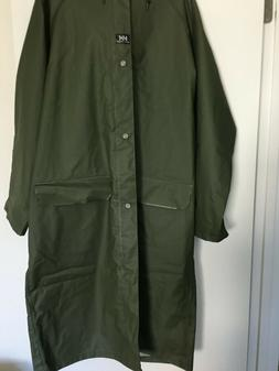 men s raincoat size large nwot