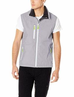 Helly Hansen Mens Crew Sailing Vest Silver Grey White Trim V