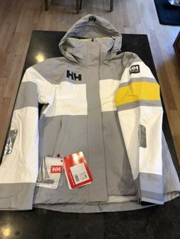 MENS Gray Helly Hansen Waterproof Breathable Salt Light Sail