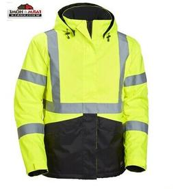 Helly Hansen Men's Alta High-Vis Workwear Jacket L ~ New