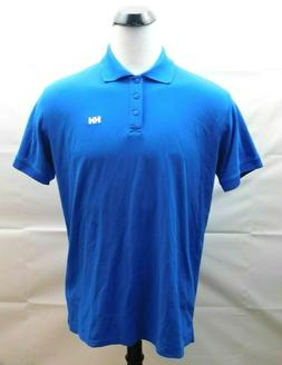 HELLY HANSEN Mens Polo Shirt Blue Size XL