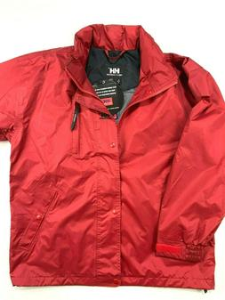 Helly Hansen Mens Red Medium Vortex Windproof WaterProof Hoo
