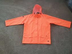 NEW Helly Hansen Flame & Water Resistant Orange Work-wear XL