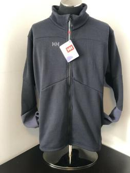 New Men's 2XL Helly Hansen EQ Black Midlayer Jacket - Style