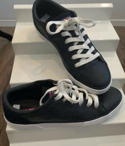 NEW HELLY HANSEN Men's Boat Deck Shoes Sneakers Size 9 LEATH