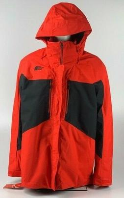 New with Tags Helly Hansen 3-in-1  Clement Jacket Fiery Red