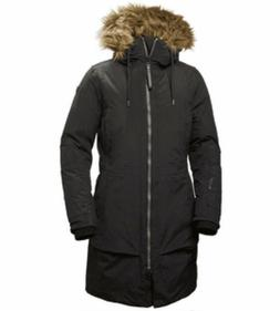 Helly Hansen Nordkapp Parka Black Large Women's Down 480 Jac