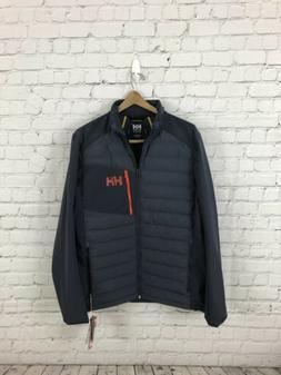 NWT Men's Helly Hansen Salt Light Puffer Sailing Jacket Blue