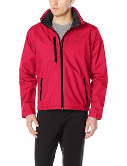 NWT Helly Hansen Mens Crew Hooded Jacket Red, Mesh-lined, Mi