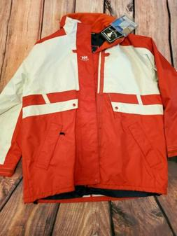 NWT! Vtg 90's Helly Hansen Size XL Sailing Jacket Multicolor