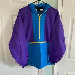 Helly Hansen Packable HH Jacket Mens Small S Blue Waterproof