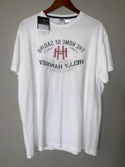 Helly Hansen Short Sleeves Graphic Tee T-Shirt Size Large Nw