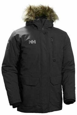helly hansen SVALBARD PARKA BLACK US MENS SIZES 53150-990