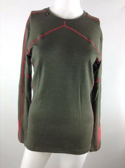 Helly Hansen Women Lifa Merino Crew Top Ivy Green Medium 483