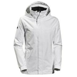 HELLY HANSEN WOMEN'S NEW ADEN JACKET,WHITE,CHECK FOR SIZE