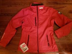 Helly Hansen Womens Mid Layer Crew Jacket Cardinal Breathabl