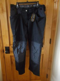 HELLY HANSEN HH WORK PANTS D108 #76424 40X30 DARK GREY & BLA